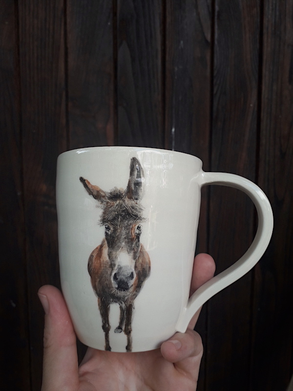 taza burro