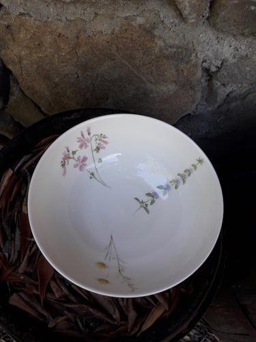 Chianti flowers bowl