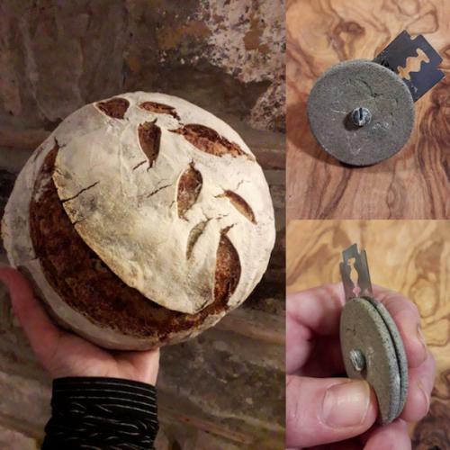 Cuchillas para incisiones en el pan