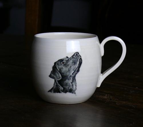 Labrador taza