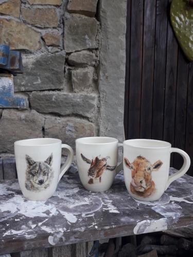 Mammals mugs