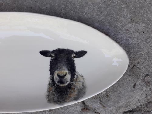 Sheep tray detail
