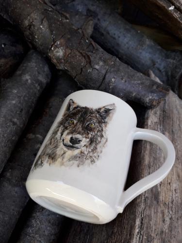 Taza lobo